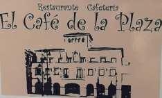 Logo el cafe de la plaza